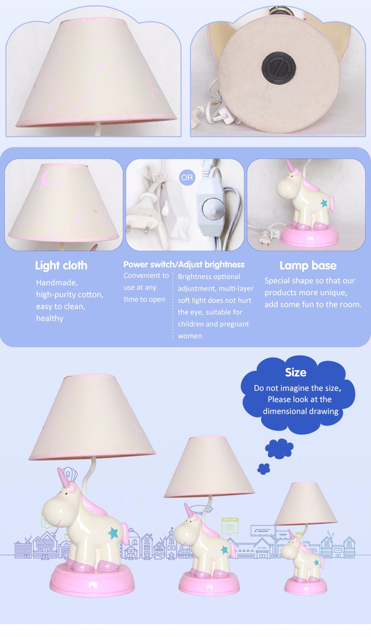 Best price resin table lamp made in china
