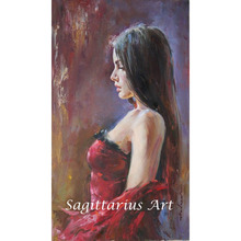 Museum Quality Painter Handmade Impressionist Oil Painting Sexy Woman Back Picture For Dancing Room
