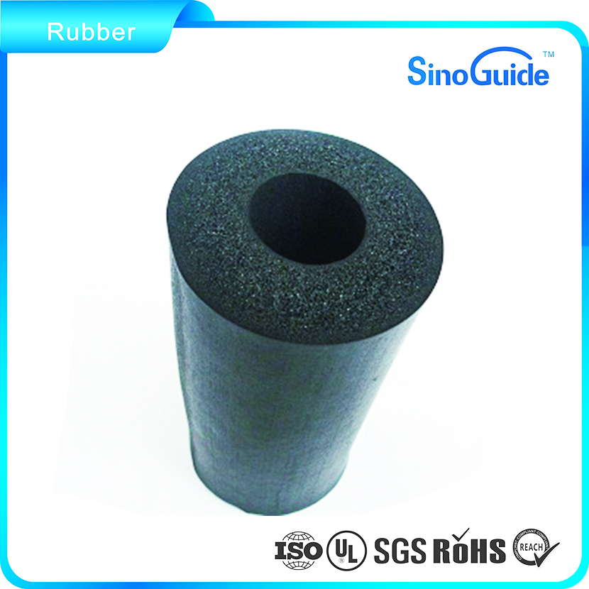 Customized Flexible Closed Cell Foam Tube Foam Rubber Tubing
