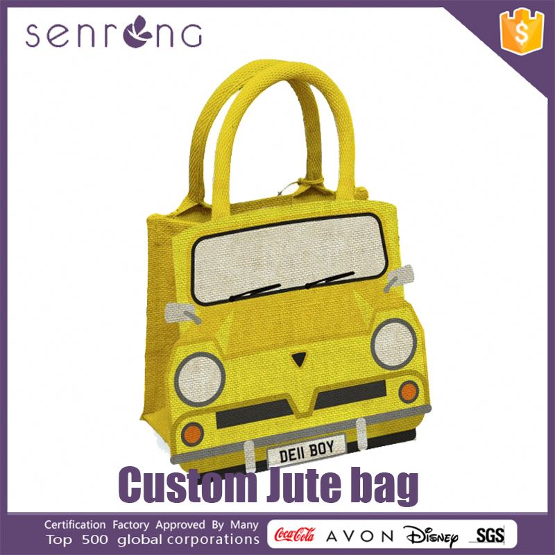 Children Jute Bag 100% Jute Fabric Bag Sofa Fabric
