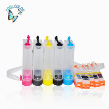 High Quality Continuous Ink Supply System For Canon PIXMA TS6050/6051/6052/5050(Five Colors)