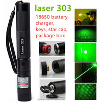 High quality 303 green light laser pointer