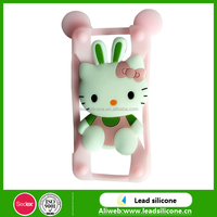 3D Cartoon Cute Silicone Mobile Phone Case/Silicone Phone Cover