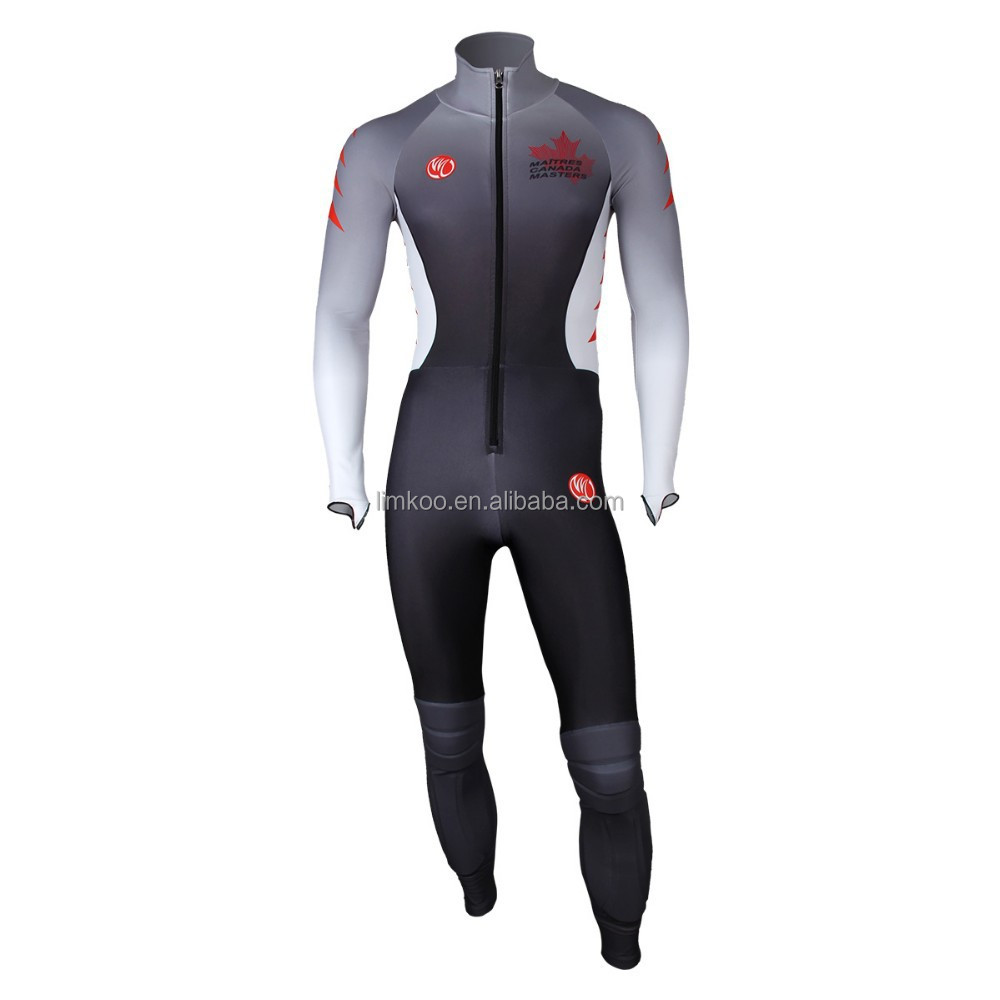 New Arrival Breathable Windproof long sleeve speed skating suit