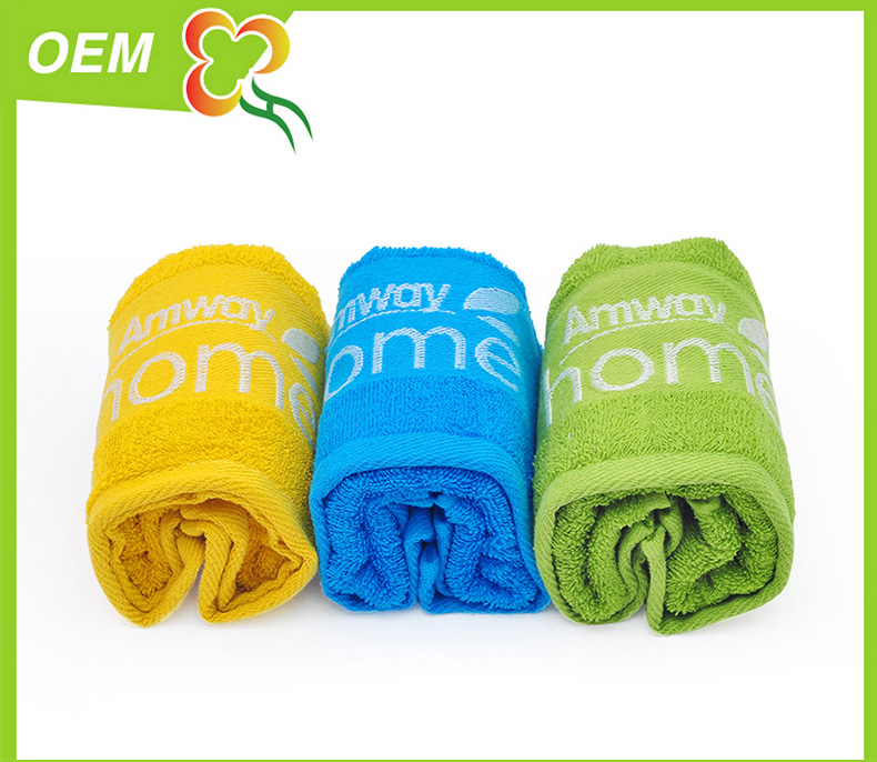 100% cotton stain jacquard towel