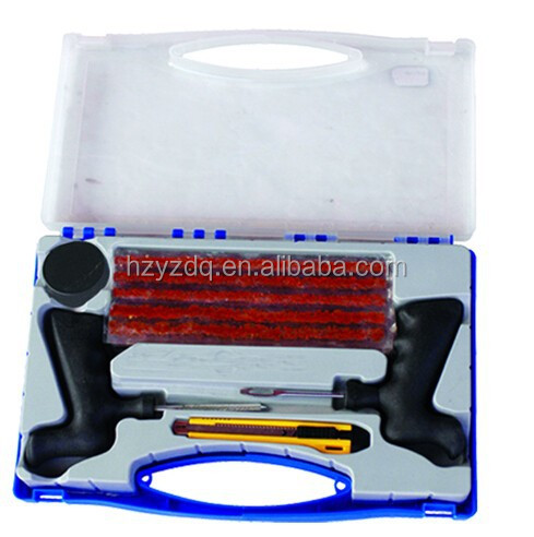 10pcs tire repair tools kit in case for truck tire