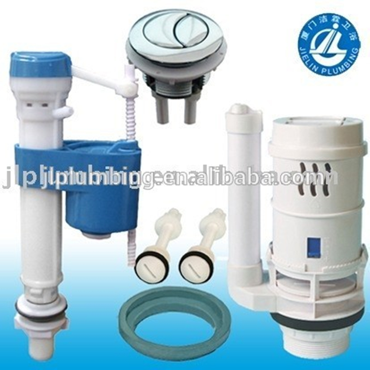 High quality dual flush mechanism toilet cistern fitting for two piece toilet