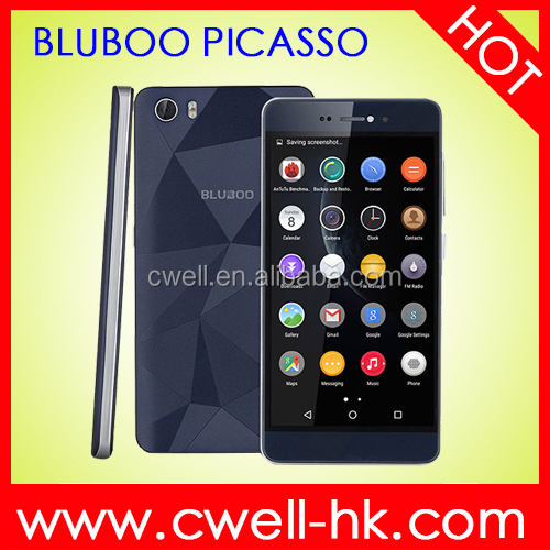 BLUBOO Picasso 5 inch MTK6580 Quad Core Android 5.1 2GB RAM 16GB ROM 3G WCDMA Unlocked Skype Mobile Phone
