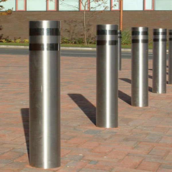 Steel Security Removable Pipe Bollards Traffic Equipment