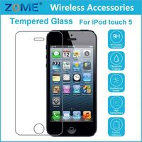 Factory Supply 0.26Mm Thickness 9H Hardness Plating 2.5D Best Tempered Glass Screen Protector For Ipod Touch 5