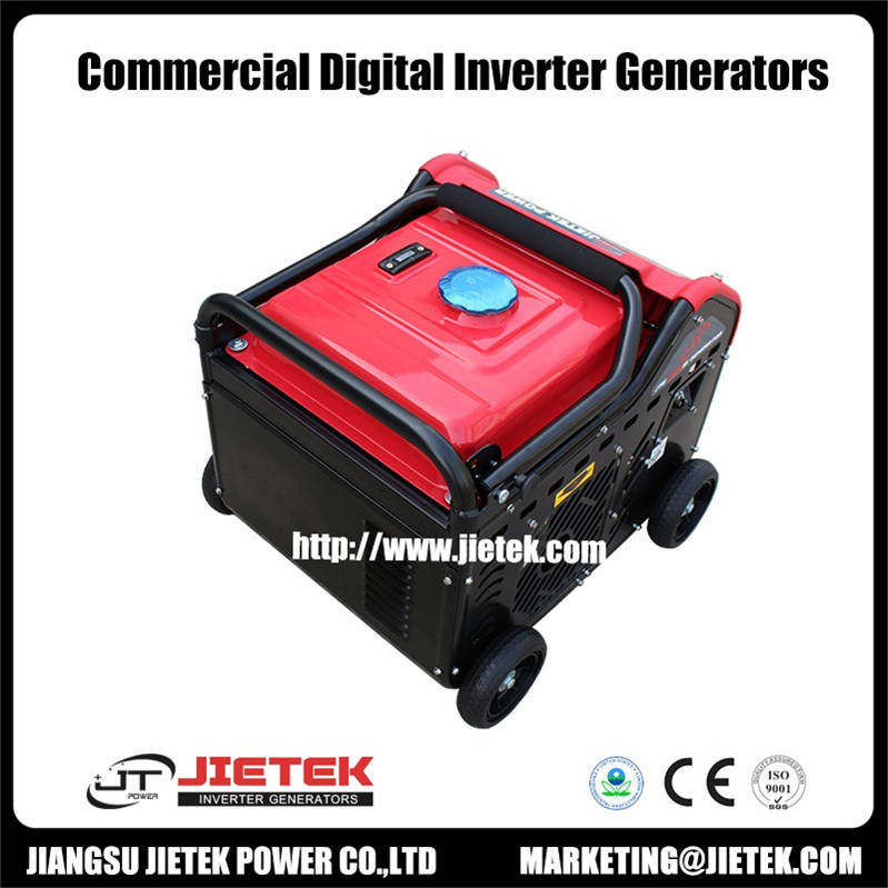 AC alternator generator gasoline portable with Briggs and Stratton engine
