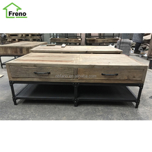 Industrial Furniture Wholesale Vintage Coffee Table Reclaimed Wood Table