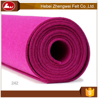 High quality 100 % wool felt for craft