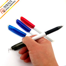 Fancy pen ink eraser,high quality erasable ball point pen for school or office.