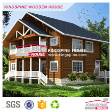 luxury wooden villa log house customized design plan