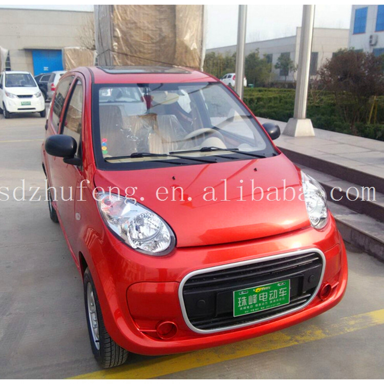 2017 fashion product 4 wheel 4 doors 4 seater karachi electric car china A7