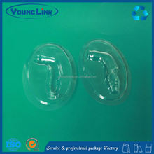 clear plastic clamshell blister packaging for usb