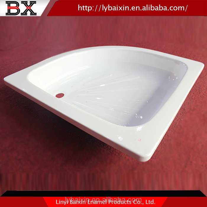 Top quality freestanding cast iron shower trays,shower pan custom shower tray,shower tray and enclosure