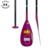 Kingpaddle Custom Color 2 Piece Adjustable Fiberglass SUP Paddle