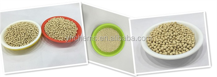 2017 Hot sale Zeolite molecular sieve 3A in petroleum industry