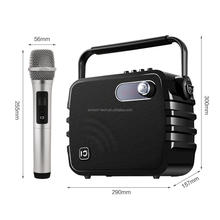 Portable DJ/PA Speaker with uhf wireless microphone for party