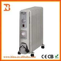Cheap oil filling electric radiators 7fins/9fins/11fins for sale