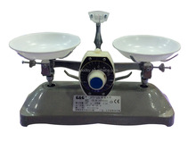 high quality mini dial two dish scale balance with calibration weight scale