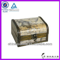 Large imitation treasure chest with gold coin (QL-3456)