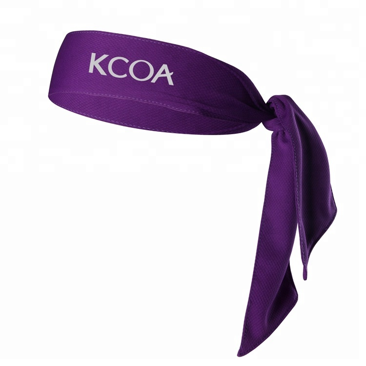 Custom Polyester Hair Cool Sport Head Tie <strong>Headband</strong>