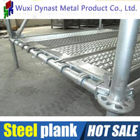 construction and housing industries steel planks