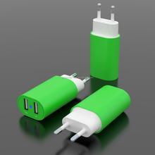 2016 the most popular 2 port usb wall charger with smart IC