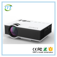 2016 Newest 800*480 1080p support UC40 china home projector entertainmet projector top quality projector UNIC UC40