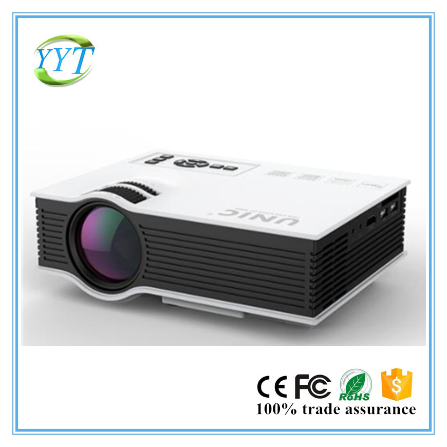 2017 Newest cheap 800*480 1080p support UC40+ china home projector entertainmet projector top quality projector UNIC UC40