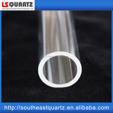 Fused GE214 crystal quartz test tube price with high temperature resistance