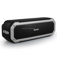 Portable Sport Waterproof Wireless Bluetooth 4.0 Speaker with Mic, build-in dual Subwoofer, Volume & Playback Controls
