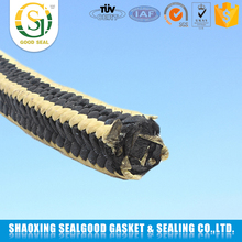 Good Chemical Stability Aramid Fiber Braided With Ptfe Graphite Packing