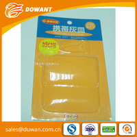 Low price PVC PS PET plastic slide blister packaging
