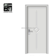 China hdf complete container house pvc door