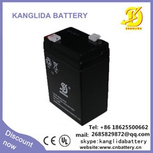 6v 4ah rechargeable lead acid battery for Camera