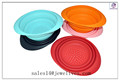 Hot 2013 multifunction unbreakable cheap silicone collapsible bowl direct factory from Shenzhen China factory