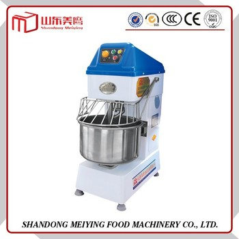 Trade assurance SS series CE 20L 30L hot sale electric commercial industrial spiral mixer dough kneading machine
