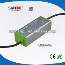 Shenzhen SANPU CE ROHS IP67 PFC0.95 outdoor led transformer switching dc power supply led dmx decoder led driver