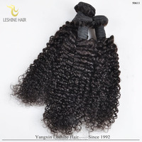 2016 Hot Selling Natural Raw Virgin Indian Curly Weave Hair