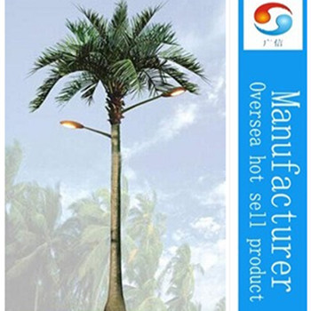 4.5M Garden artificial palm trees with LED decoration lights