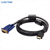 Manufacture price hdmi to vga rca cable 5m hdmi to vga cable/RCA CABLE