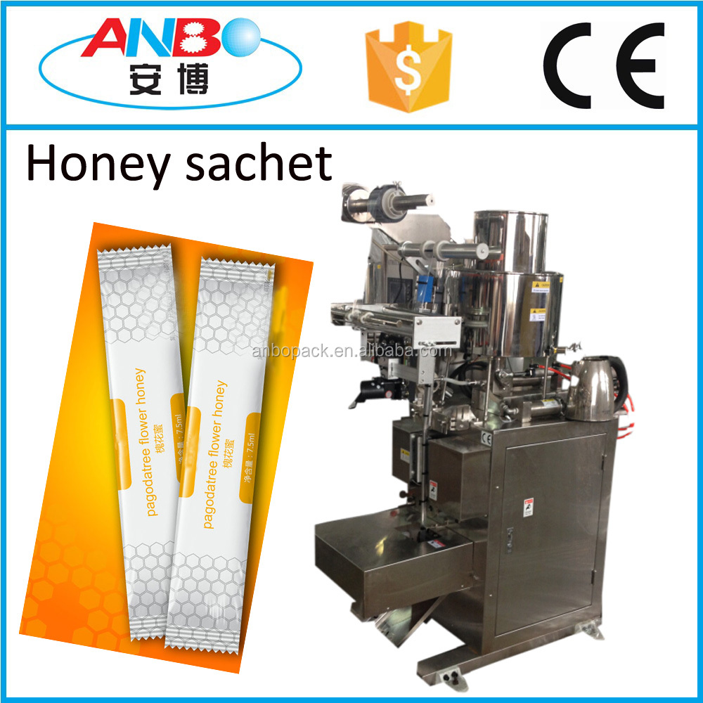 Honey stick filling machine