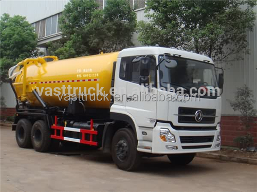 15stere Small Sewage suction truck waste transport truck
