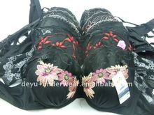0.43USD Pure Black Cheappest Sexi Girl Wear Bra (kczk002)