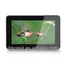 H706 7inch MID with wifi 3G sim slot camera 3D game Office-software G-sensor Audio playing Video playing 2013 new products