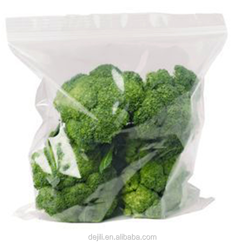 freezer assort packing bag with zipper/food grade LDPE zip lock plastic packaging bags for fruits,vegetables and fruits